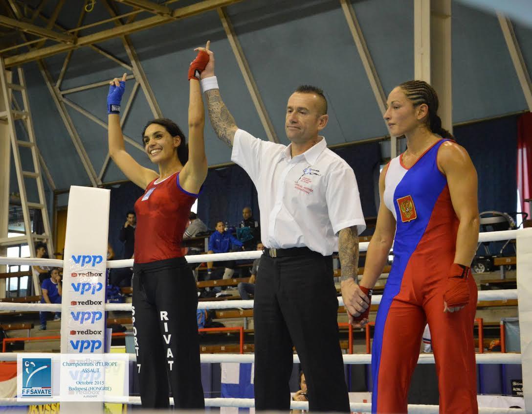 Rim Ridane - Championne d'Europe 2015